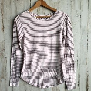 Madewell Tops - Madewell Anthem Red Stripe Longsleeve Tee